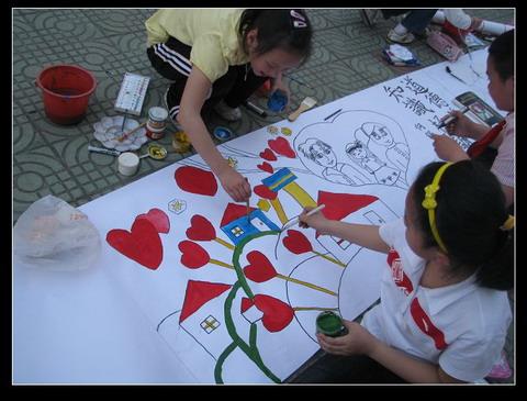 感恩画—「小画家」绘制-母亲节绘图2