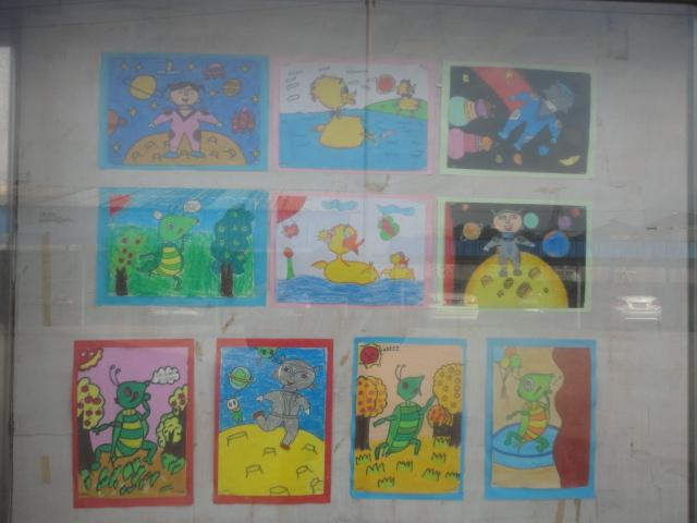 小學二年級古詩配畫內容|小學二年級古詩配畫版面設計