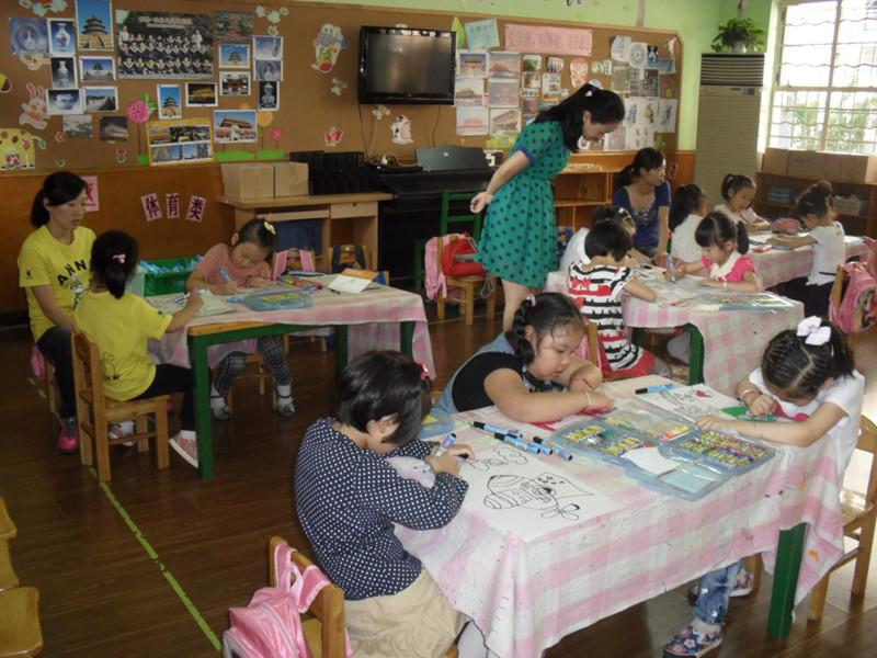 天使幼儿园 迎国庆 颂祖国 畅想未来 绘画比赛