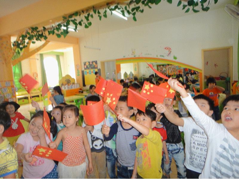东盛幼儿园大班年段庆国庆报道