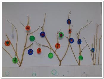 幼儿园中班树枝创意