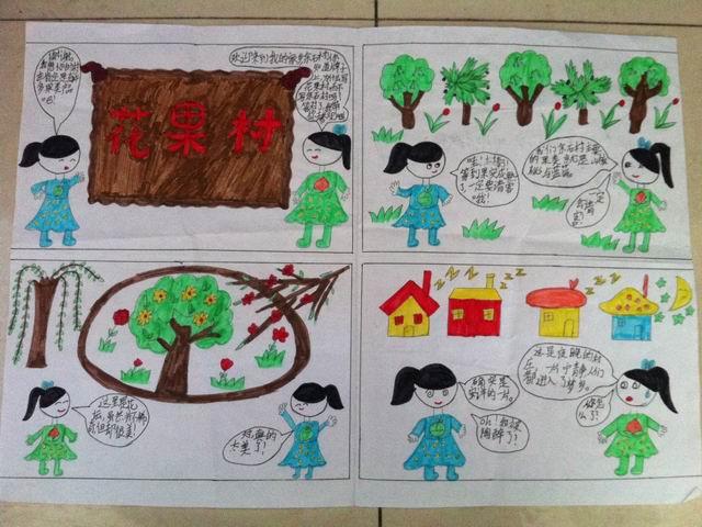 """25生态日和3月相关节日,组织队员开展""""家乡美景我描绘""""的实践活动"""