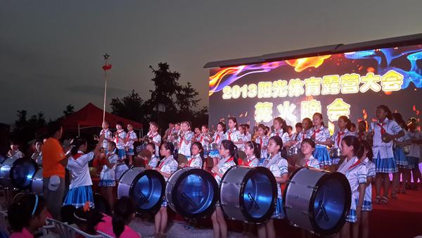 全国鼓乐队总教练陈膺老师迫