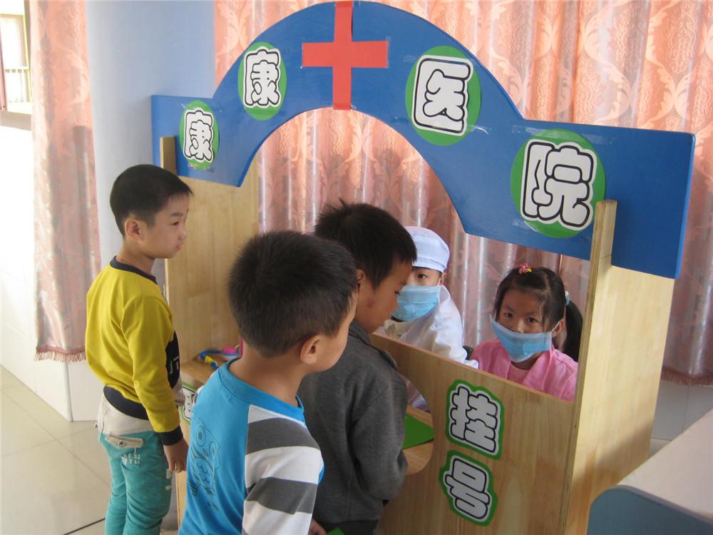 小社会 大体验 善琏镇中心幼儿园大班角色游戏体验活动