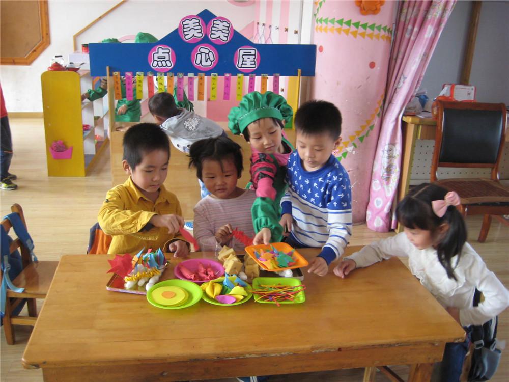 小社会 大体验 善琏镇中心幼儿园大班角色游戏体验活动 高清图片