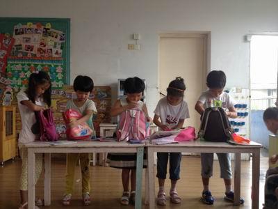 整理书包大比拼——钟管幼儿园幼小衔接系列活动