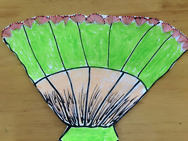 有趣的铅笔屑贴画 -湖州教育网