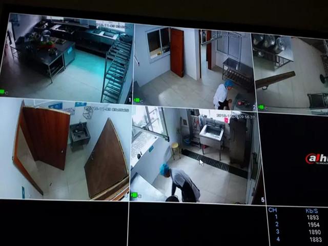 """安城中心幼儿园食堂安装""""天眼""""全程监控更安全"""