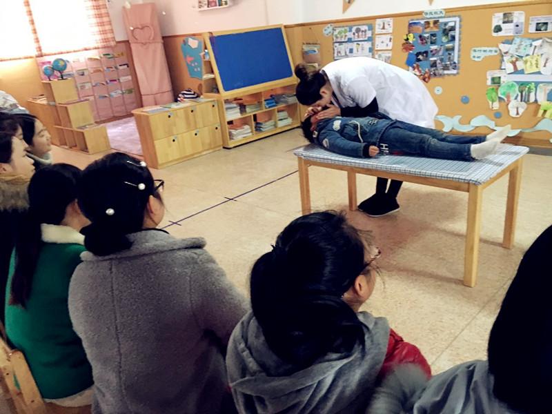 也使大家掌握了幼儿园常见意外伤害的处理方法