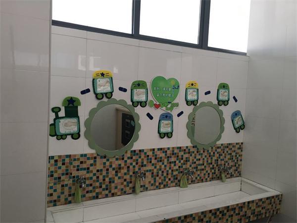 长兴县机关幼儿园:寻找最美盥洗室