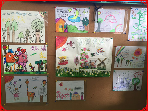 幼儿园以环保为主题手抄报简单又漂亮