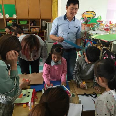环保创意无限——德清县远望幼儿园开展亲子环保制作