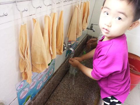 我们一起来洗手