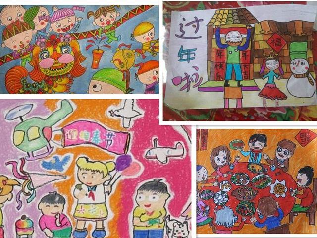 新学期,新气象。新民学校孩子们上交的一幅幅我眼里的春节绘画作品更是给新学期填上了亮丽的色彩。 新民学校的学生来自全国各地,几乎一半的学生是少数民族,他们的春节各具特色,把我眼里的春节作为绘画主题对于他们来说是大显身手的时候。学期刚开始,同学们就迫不及待地上交了自己的作品,一幅幅具有民族特色的作品让老师和同学们眼前一亮。学生上交作品是还不断地说着家乡春节的风俗习惯和发生在家乡的新鲜事。 这样的活动不仅给学生搭建了一个展示家乡文化的平台也丰富了学生的寒假生活。