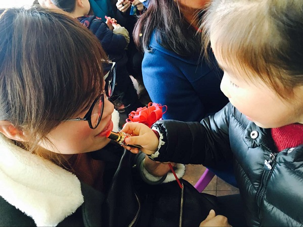 春江名城幼儿园:三月春风情意暖