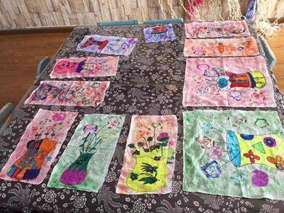 利用各种蔬菜和颜料印画,可以激发幼儿自主创新,体验活动过程,获得