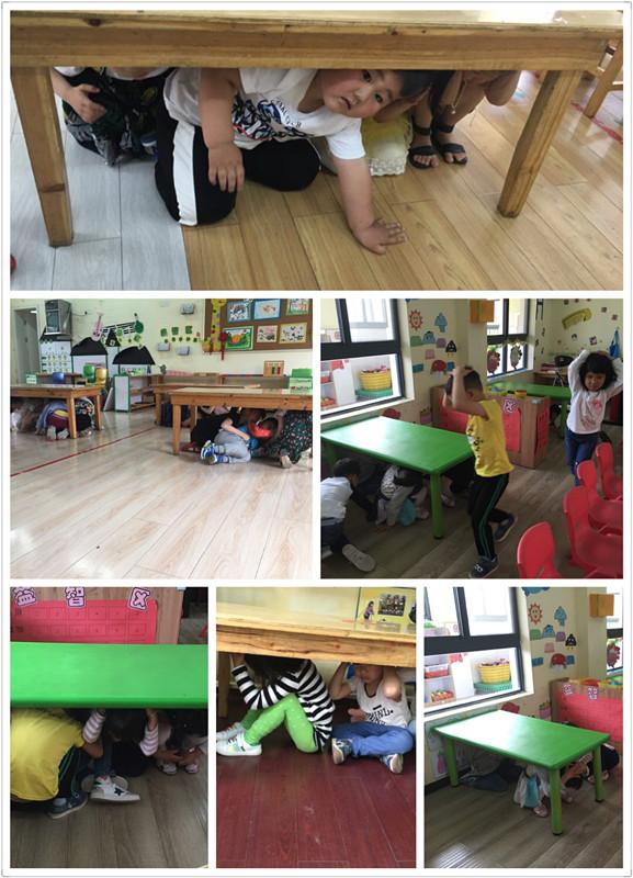 金象湖实验幼儿园开展防震疏散演练活动