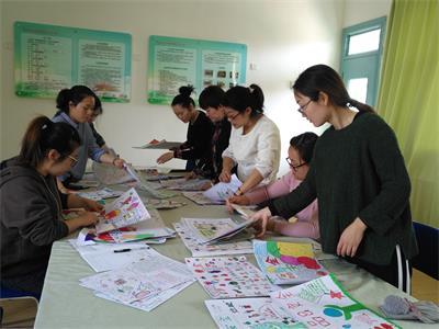 舌尖上的安全 德清县雷甸镇第二幼儿园开展 食品安全亲子小报 制作活
